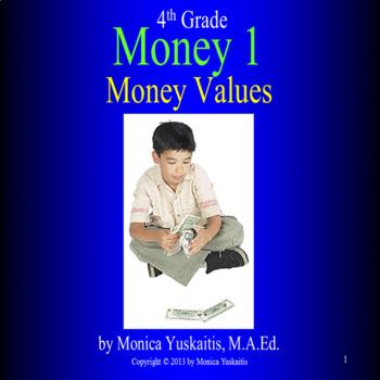 Common Core 4th - Money 1 - Money Values