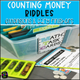 Counting Money - Extensions for Your Money Unit - Riddles for Counting Money