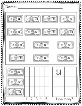 Money Graphing Worksheets
