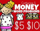 Money Word Problem Activity