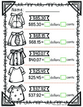 Dollars and Coins