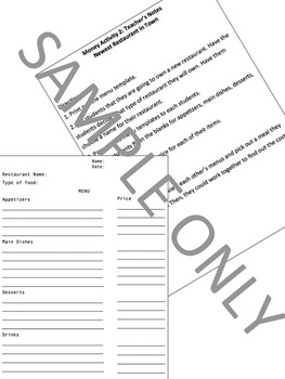 Money Worksheets Games Common Core Math Centers Back to School Activities