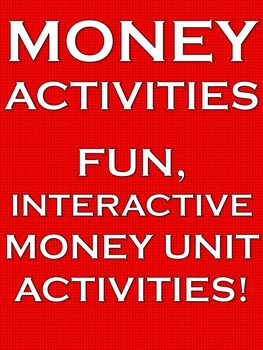 Money Worksheets Games Common Core Math Centers Back to Sc