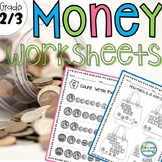 Money Worksheets 2nd Grade Counting Coins and Bills