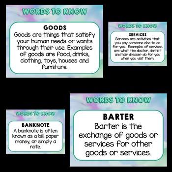 Money Activities (Money PowerPoint)