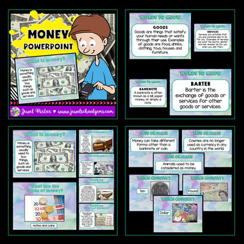 Money Activities BUNDLE (PowerPoint and Worksheets)