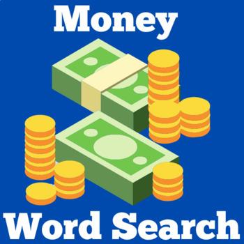 Money Activity | Money Word Search