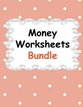 Money Worksheets Bundle