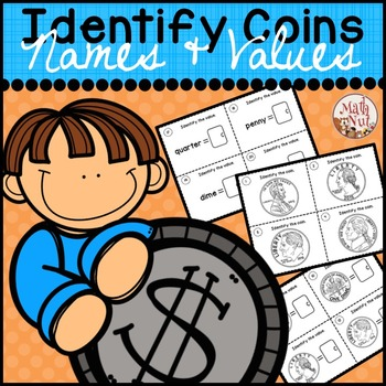 """Identify Coins Names & Values """"Money Game"""""""