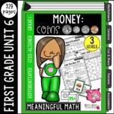 First Grade Money Unit | Common Core Aligned & Differentiated