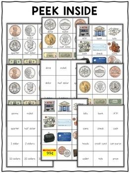 Money Pocket Chart Center