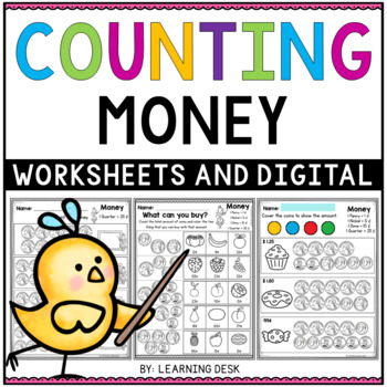 Coins And Money Worksheet Teaching Resources | Teachers Pay Teachers