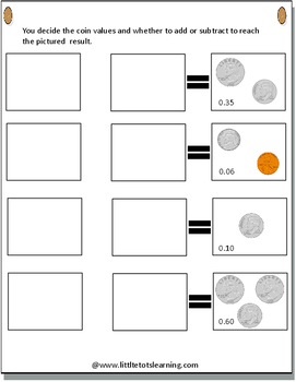 Money Worksheets and Money Activities