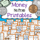 Money Anchor Charts, Printables, and Task Cards CCSS 2.MD.C.8
