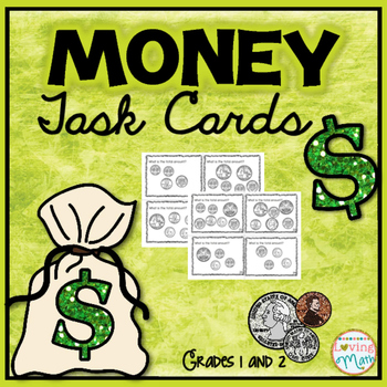Money - Adding Coins Task Cards