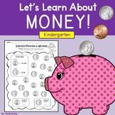 Money - Kindergarten (Money Worksheets)