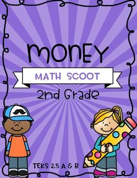 Money - 2nd Grade - Math Scoot