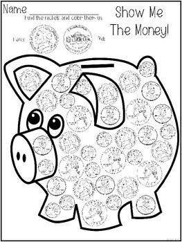 Counting Money Packet- Identify and Count Coins