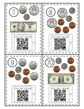 Money - 3rd Grade - Math Scoot