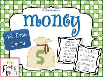 Money - 48 Task Cards