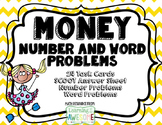 Money - number and word problems - Scoot