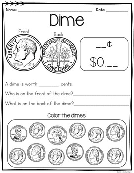 Money Activities With Coins