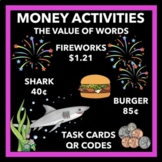Counting Money Activities and Game - 2nd and 3rd Grade - QR Codes