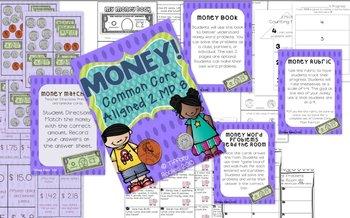 Money Activities: CCSS 2.MD.8