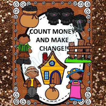 Money Activities: Count Money and Make Change (No Prep Wor