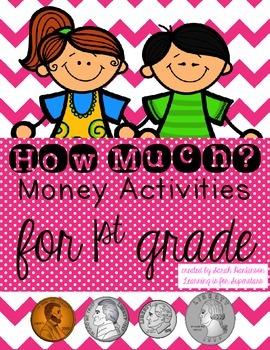 Money Activities {a first grade unit}