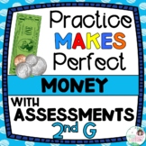 Money Activities and Assessments - 2nd Grade