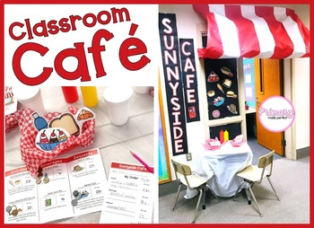 Money Activities and Centers: Classroom Cafe