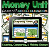 Distance Learning: Money Activities for use with Google Cl