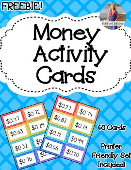 Money Activity Cards *FREEBIE*