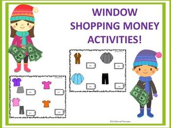 "Window Shopping ""Word Problems"" (Money Activities)"