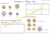 Money Activity & Worksheet Bundle