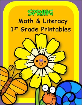Spring Math And Literacy Packet (1st)