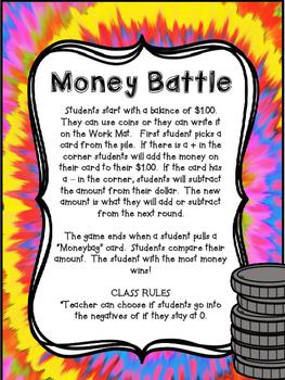 Money Addition/Subtraction Battle