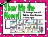 Money Addition Word Problems QR Code Scavenger Hunt TEK 3.4c