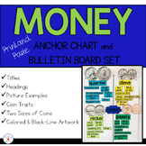 Money and Coins Anchor Chart and Bulletin Board Set