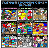 Money And Shopping Bundle (Scribble Clips)