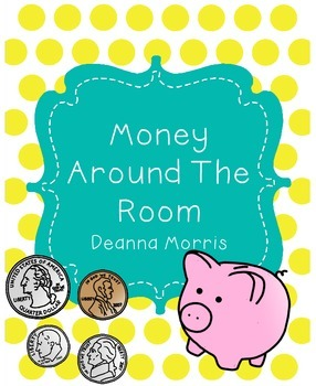 Money Around The Room Game!