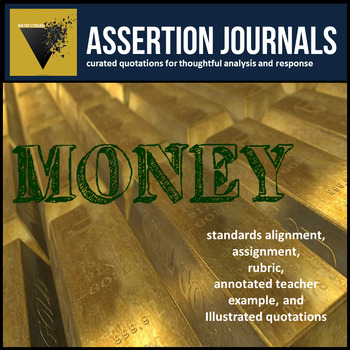 Money: Assertion Journal Prompts about Wealth and Poverty