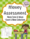 Money Assessment - 1st Grade