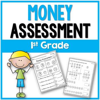 Money Assessment 1st Grade