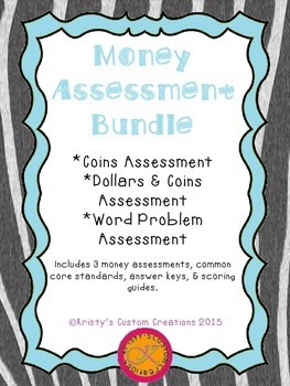 Money Assessment Bundle