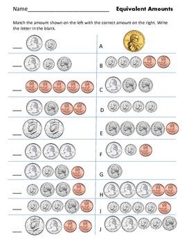 Money Assessment (U.S. Denominations)