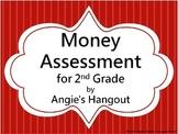Money Assessment for 2nd Grade