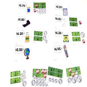 Money August Math Center