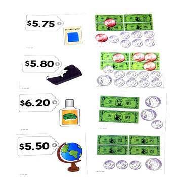 Money Back to School Game